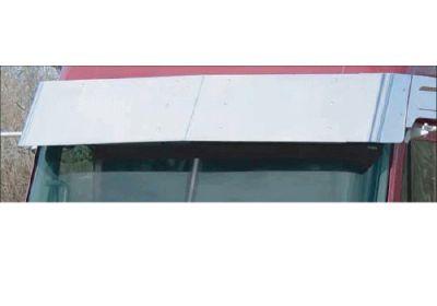 Stainless Steel Sun Visor To Suit  Freightliner Columbia, Century, Coronado Day Cab