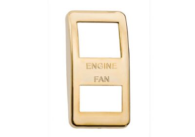 Switch Cover Gold Engine Fan