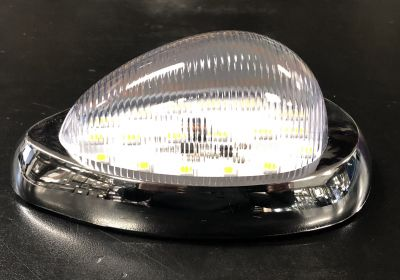 LED 12 Volt Light Indicator Clear/Amber To Suit Freightliner & Western Star