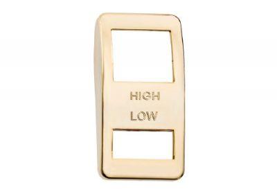 Switch Cover Gold Wiper Hi/Low