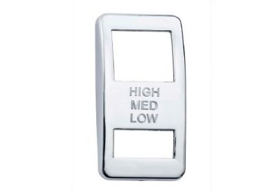 Switch Cover Chrome Engine Brake Hi/Medium/Low