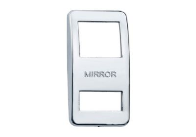 Switch Cover Chrome Mirror
