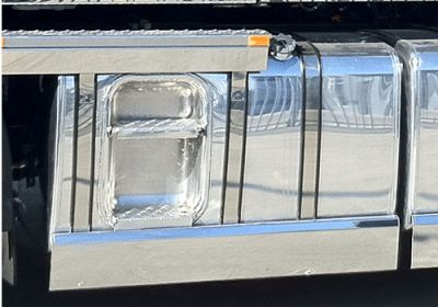 Stainless Steel Tank Skirt Square 640MM Single To Suit Kenworth/Freightliner/Iveco