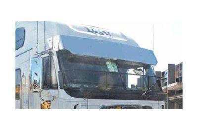 Stainless Steel Sun Visor 15 Inch To Suit Freightliner Argosy