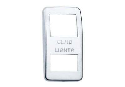Switch Cover Chrome Clearence Light