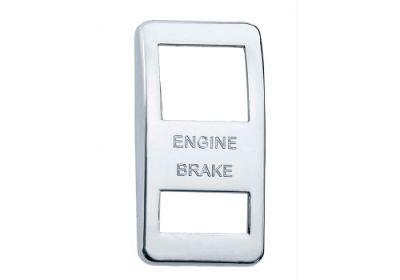 Switch Cover Chrome Engine Brake