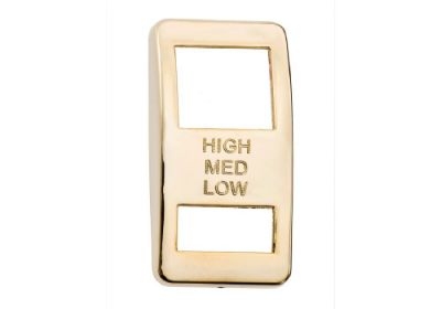 Switch Cover Gold Engine Brake Hi/Medium/Low