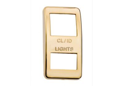 Switch Cover Gold Clearence Light