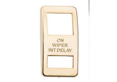 Switch Cover Gold Wiper Intermidiate Delay