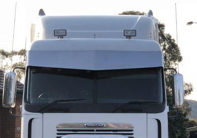 Stainless Steel Sun Visor 15 Inch To Suit  Freightliner Argosy Boltless