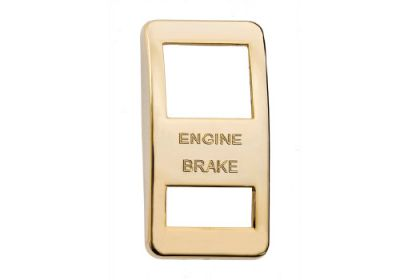 Switch Cover Gold Engine Brake