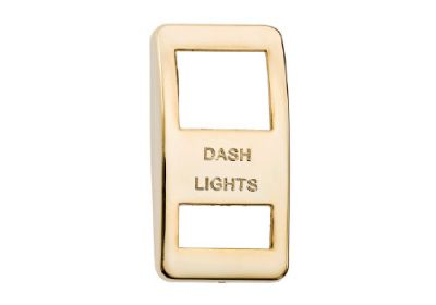 Switch Cover Gold Dash Light