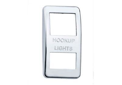 Switch Cover Chrome Hook Up Lights