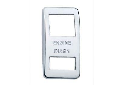 Switch Cover Chrome Engine Diagnostics