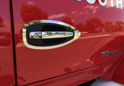 Stainless Steel Door Handle Surround To Suit Kenworth T360/T610/T610 SAR