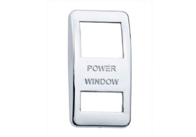 Switch Cover Chrome Power Window