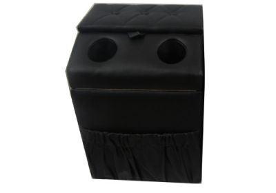 Middle Seat Console Black Universal