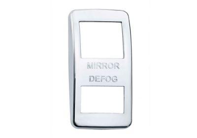 Switch Cover Chrome Mirror Defog