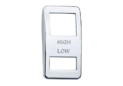 Switch Cover Chrome Wiper Hi/Low