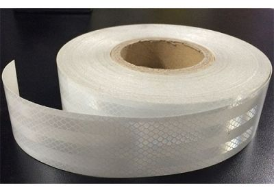 Reflective Tape White (Sold By The Metre) 50mm Wide