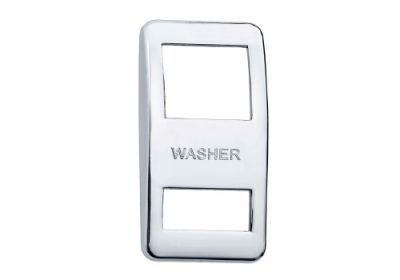 Switch Cover Chrome Washer