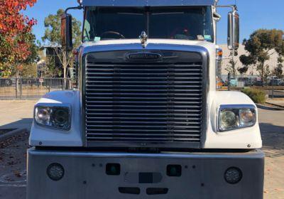 Stainless Steel Sun Visor To Suit Freightliner Columbia, Century, Coronado Day Cab 6 hole