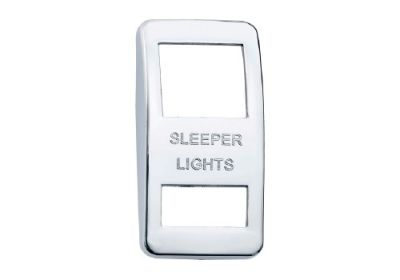 Switch Cover Chrome Sleeper Light
