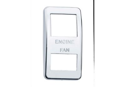 Switch Cover Chrome Engine Fan