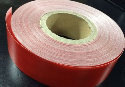 Reflective Tape Red (Sold By The Metre) 50mm Wide