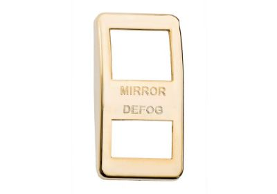 Switch Cover Gold Mirror Defog