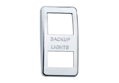 Switch Cover Chrome Back Up Lights