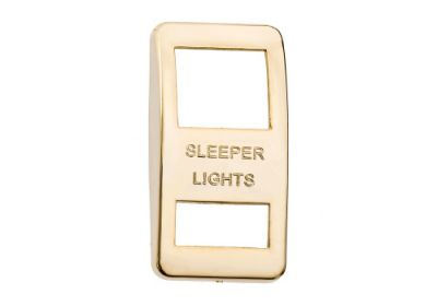 Switch Cover Gold Sleeper Light