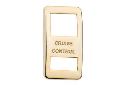 Switch Cover Gold Cruise Control