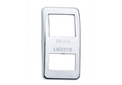 Switch Cover Chrome Headlights