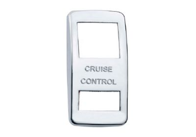 Switch Cover Chrome Cruise Control