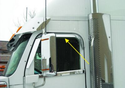 Weather Shield Window Shade To Suit Freightliner
