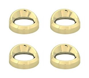 Gauge Cover Visor Small 4 pack Gold To Suit Kenworth