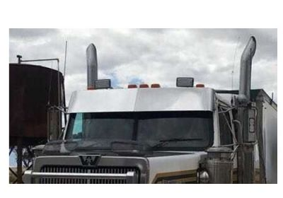Stainless Steel Sun Visor 10 Inch Boltless To Suit Western Star Constellation Sleeper Only