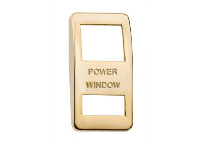Switch Cover Gold Power Window