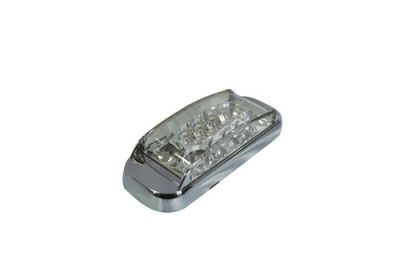 LED Multi Volt Monster Side Marker Clear/Amber